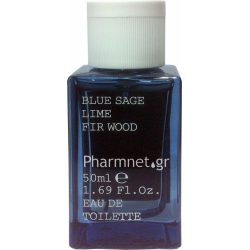 KORRES ΑΝΔΡΙΚΟ ΑΡΩΜΑ EAU DE TOILETTE BLUE SAGE, LIME & FIR WOOD 50ML