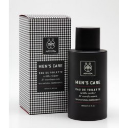 Apivita Men's Care Cedar & Cardamon Eau de Toilette 100ml