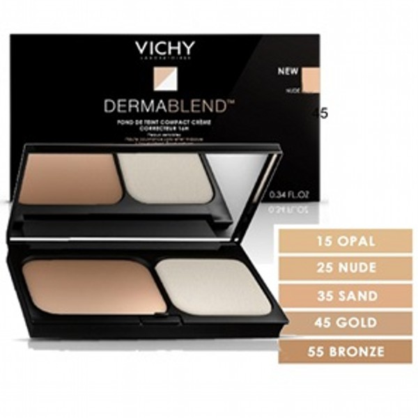 VICHY DERMABLEND COMPACT CREAM CORRECTIVE 45 GOLD 9,5GR